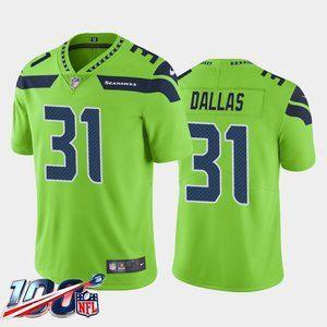 Seattle Seahawks DeeJay Dallas Green Jersey